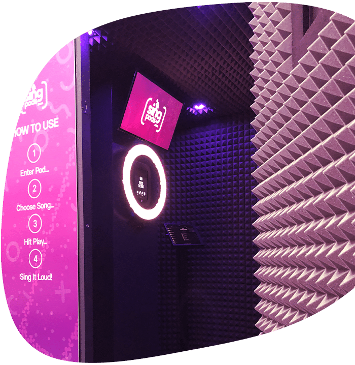 SingPods - Capture Pod Photo Booth hire london